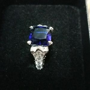 Jewelry - Sapphire ring size 8